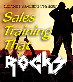 Castain Training Systems Sales Training That Rocks