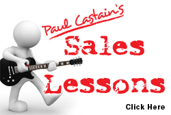 Paul Castain's Sales Lessons