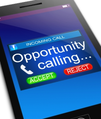 opportunity calling