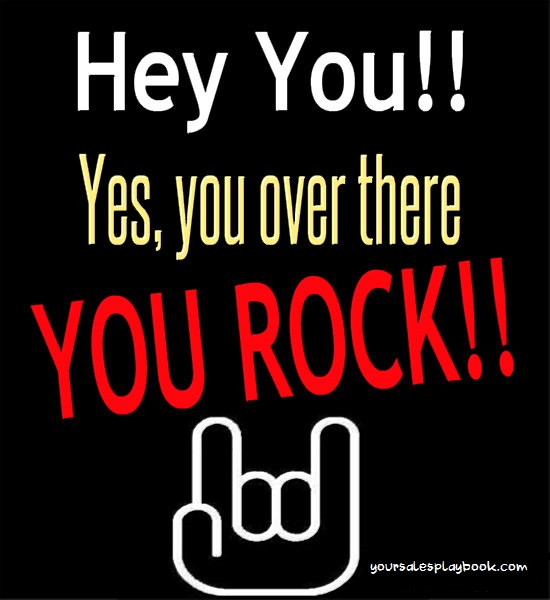you seriously rock you know that